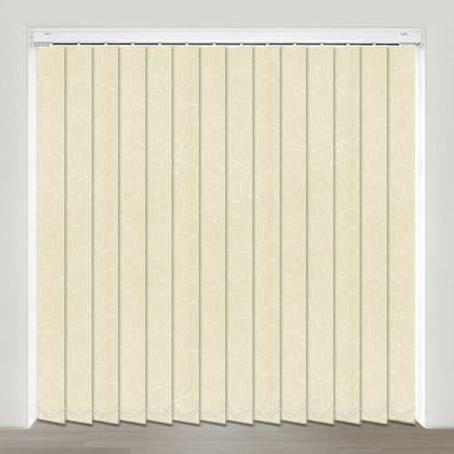 Ophelia Cream Vertical Blind