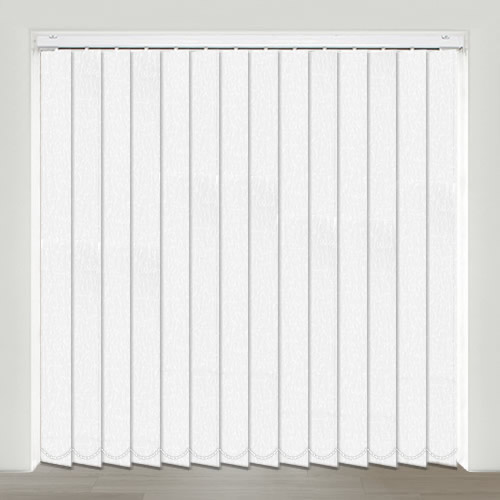 Padova White Vertical Blind