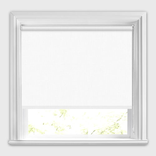 luxury white thermal blackout roller blinds made to measure. Black Bedroom Furniture Sets. Home Design Ideas