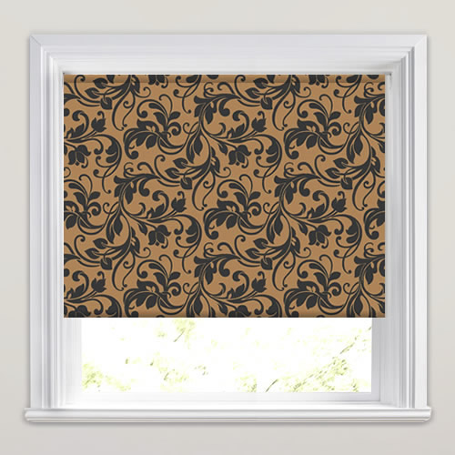 Ascoli Autumn Patterned Roller Blinds