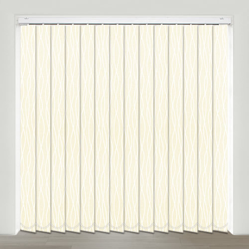 Melody Vanilla Vertical Blind