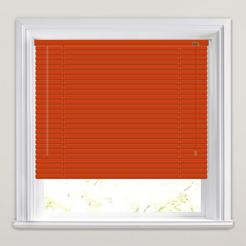 25mm Terracotta Venetian Blind