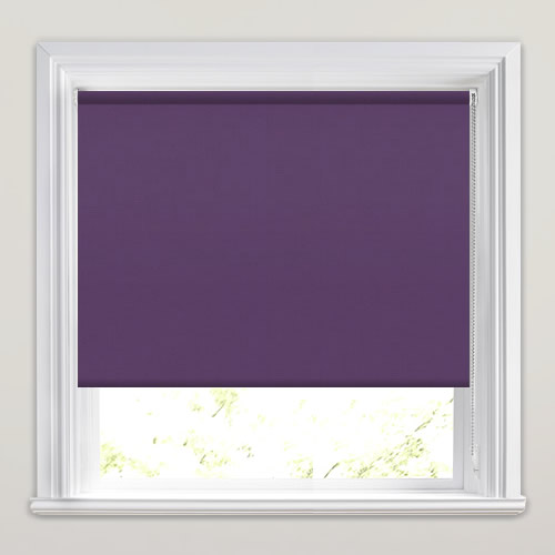 Mono FR Purple Roller Blind