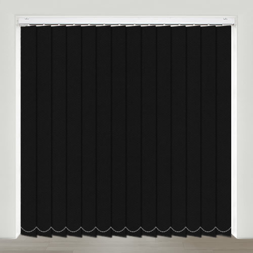 Multi Lux Black Vertical Blind