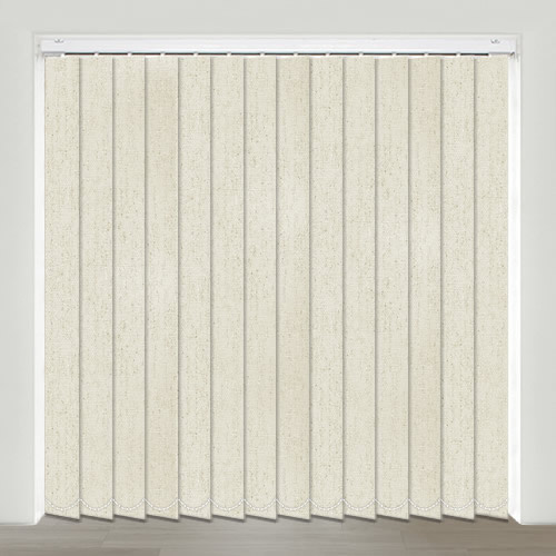 Metropolis Silver Vertical Blinds Made To Measure