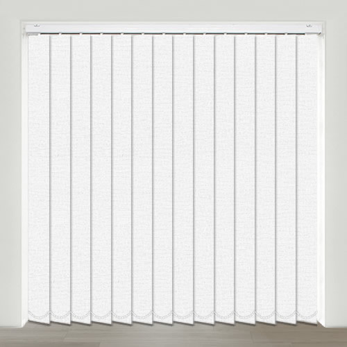 Bayonne White Vertical Blind