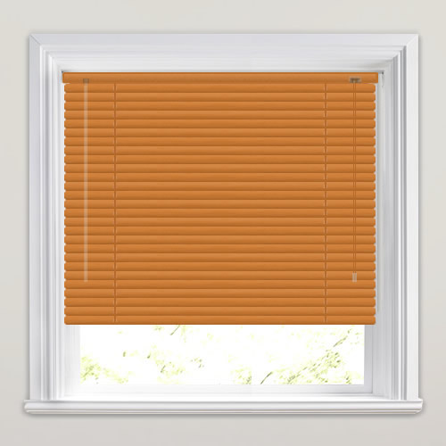 25mm Golden Oak Venetian Blind