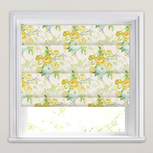 Indonesia Tropical Roman Blind