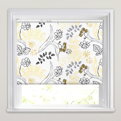 Folium Sunflower Roller Blind