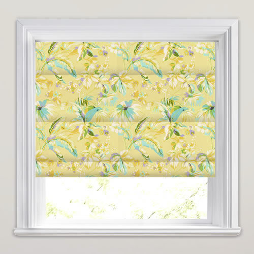 Borneo Tropical Roman Blind