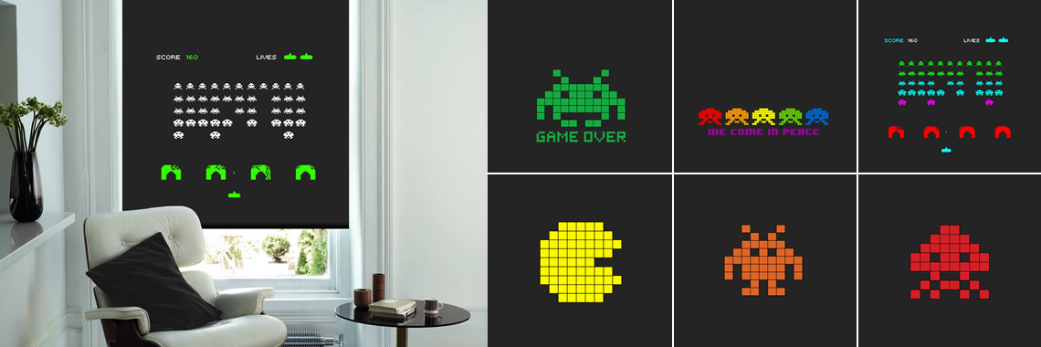 Retro Gaming Blinds