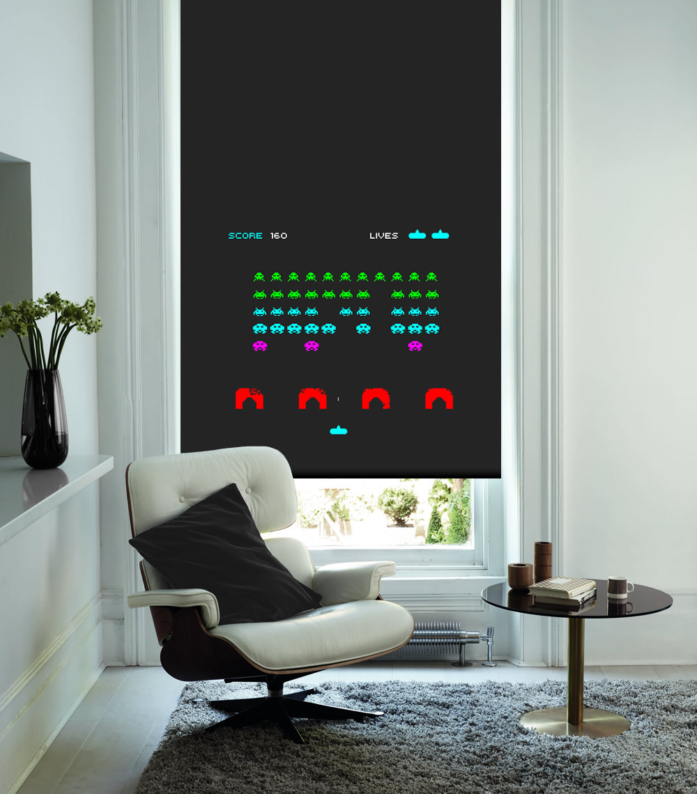 Space Invaders Game Colour