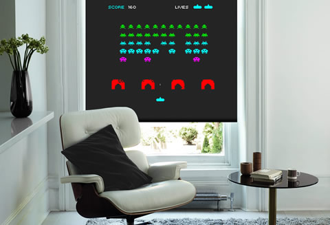 Space Invaders Colour